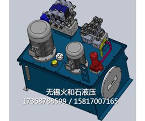 高低压组合液压系统